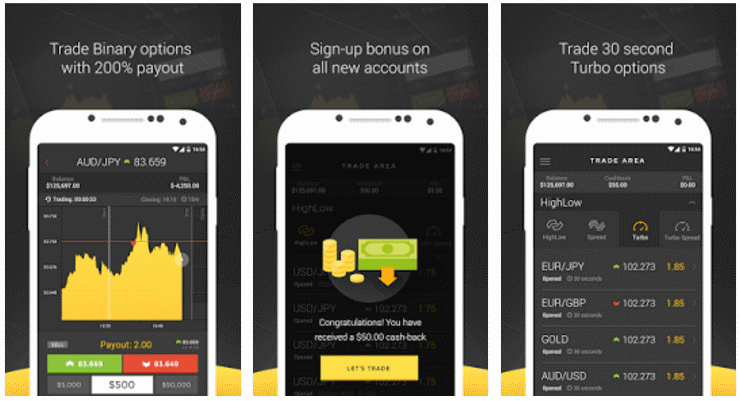 Aplikasi trading binary options