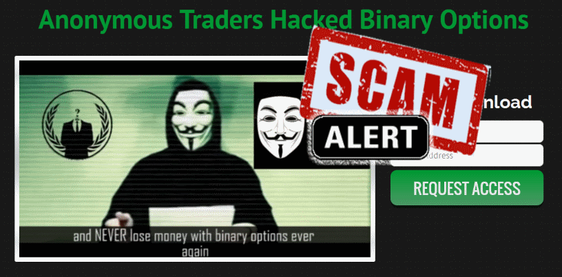 Penipuan Anonymous Binary Option