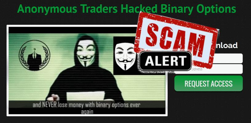 Penipuan Anonymous Binary Option