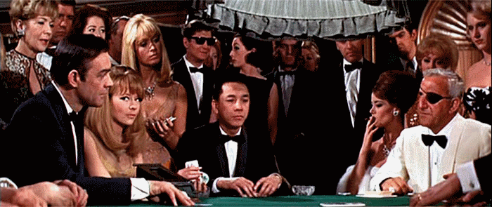 James Bond Si Penjudi