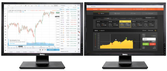 Monitor Software Trading Binary