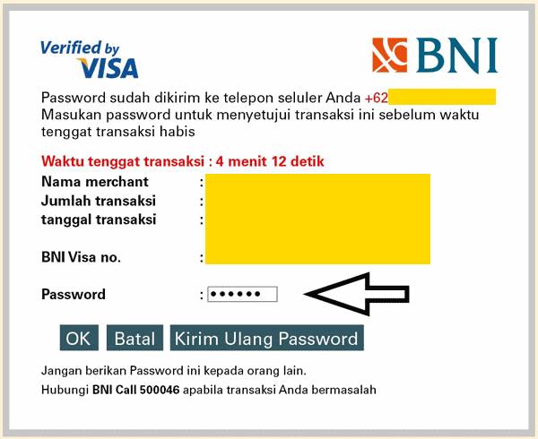 Verifikasi oleh Visa