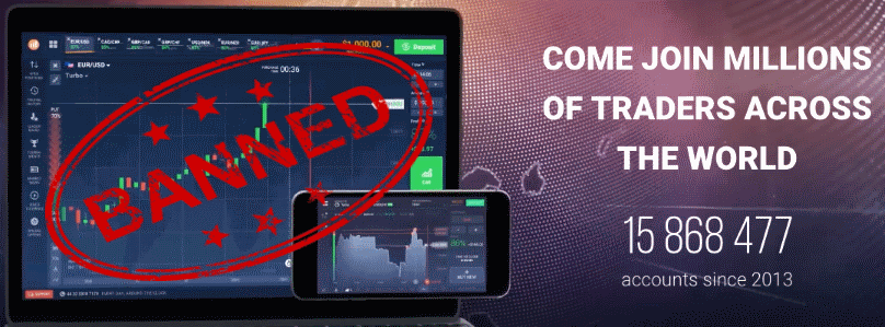 IQ Option Diblockir di Indonesia