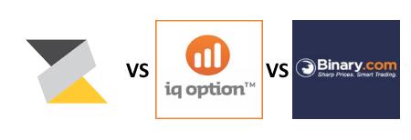 Zentrader VS IQ Option VS Binary.com